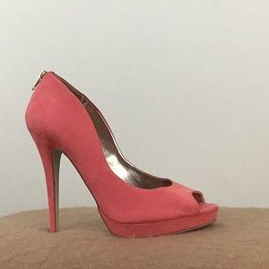 Coral High Heel
